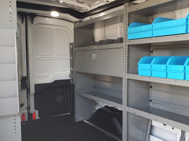 2019 Transit 250 Med Roof 4x2, Adrian Steel Electrical Contractor Upfitted Cargo Van #91956 - photo 11