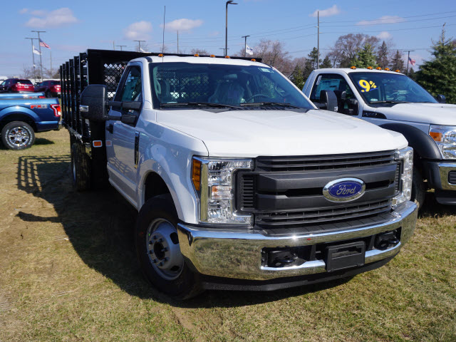 2017 F-350 Regular Cab DRW, Knapheide Value-Master X Stake Bed #171982 - photo 3