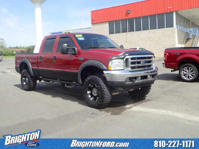 2002 F-250 Crew Cab 4x4, Pickup #181616B - photo 1
