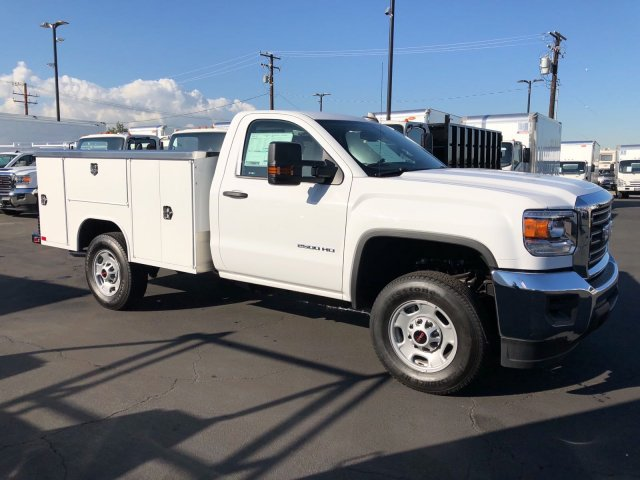2017 Sierra 2500 Regular Cab, Harbor Service Body #G171350 - photo 4