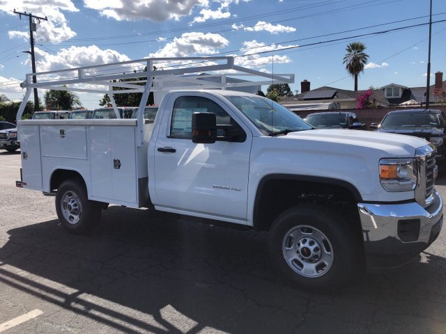 2017 Sierra 2500 Regular Cab,  Harbor Service Body #G171365 - photo 4