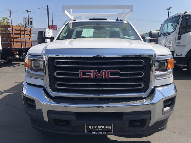 2018 Sierra 3500 Regular Cab DRW 4x2,  Royal Contractor Body #G180643 - photo 3