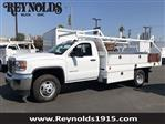 2018 Sierra 3500 Regular Cab DRW 4x2,  Royal Contractor Body #G180643 - photo 1