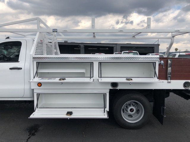2018 Sierra 3500 Regular Cab DRW,  Royal Contractor Body #G180644 - photo 9