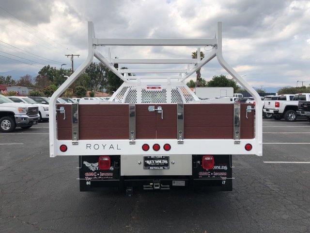 2018 Sierra 3500 Regular Cab DRW,  Royal Contractor Body #G180644 - photo 10