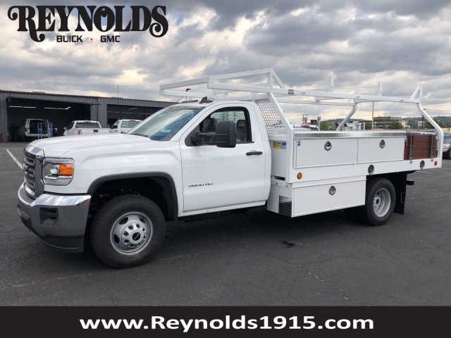 2018 Sierra 3500 Regular Cab DRW,  Royal Contractor Bodies Contractor Body #G180644 - photo 1
