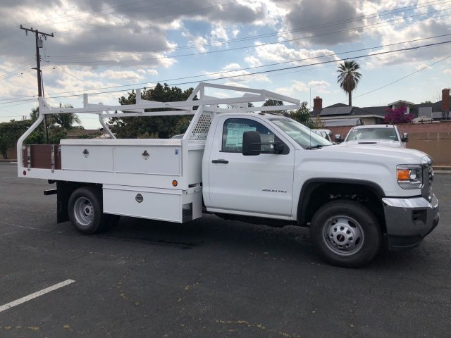 2018 Sierra 3500 Regular Cab DRW,  Royal Contractor Body #G180644 - photo 5