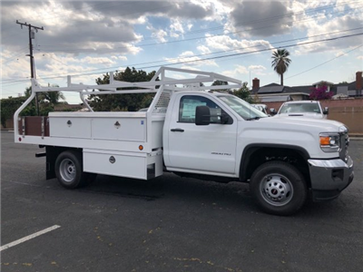 2018 Sierra 3500 Regular Cab DRW,  Royal Contractor Bodies Contractor Body #G180644 - photo 5