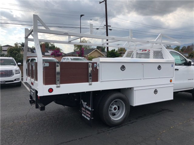 2018 Sierra 3500 Regular Cab DRW,  Royal Contractor Bodies Contractor Body #G180644 - photo 2