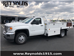 2018 Sierra 3500 Regular Cab DRW,  Royal Contractor Body #G180644 - photo 1
