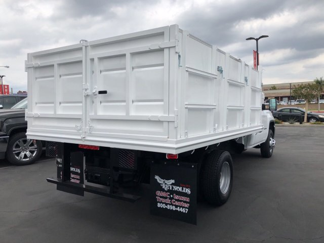 2018 Sierra 3500 Regular Cab DRW 4x2,  Martin's Quality Truck Body Landscape Dump #G180740 - photo 10