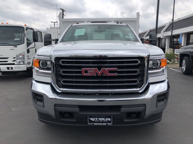 2018 Sierra 3500 Regular Cab DRW 4x2,  Martin's Quality Truck Body Landscape Dump #G180740 - photo 3