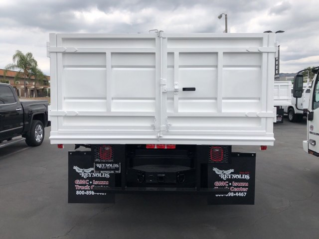 2018 Sierra 3500 Regular Cab DRW 4x2,  Martin's Quality Truck Body Landscape Dump #G180740 - photo 7