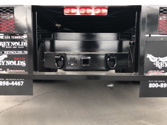 2018 Sierra 3500 Regular Cab DRW 4x2,  Martin's Quality Truck Body Landscape Dump #G180740 - photo 8