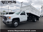 2018 Sierra 3500 Regular Cab DRW 4x2,  Martin's Quality Truck Body Landscape Dump #G180740 - photo 1