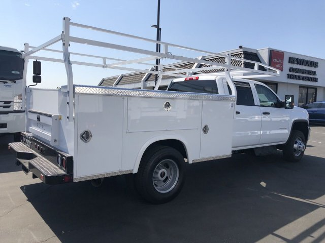 2018 Sierra 3500 Crew Cab DRW 4x2,  Royal Service Body #G180864 - photo 2