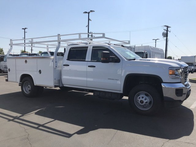 2018 Sierra 3500 Crew Cab DRW 4x2,  Royal Service Body #G180864 - photo 4