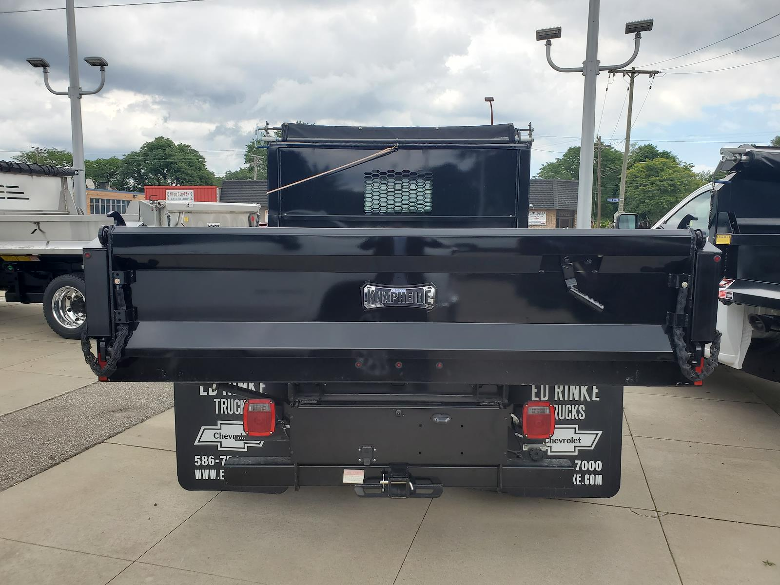 2020 Silverado Medium Duty Regular Cab DRW 4x2,  Knapheide Dump Body #503094 - photo 3