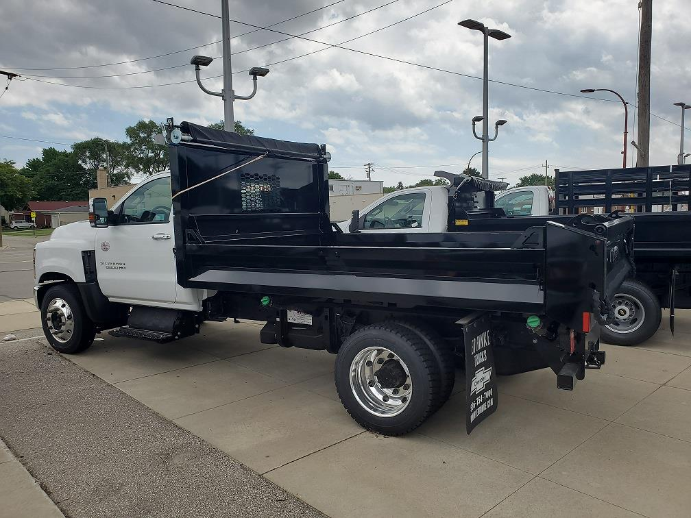 2020 Silverado Medium Duty Regular Cab DRW 4x2,  Knapheide Dump Body #503094 - photo 4