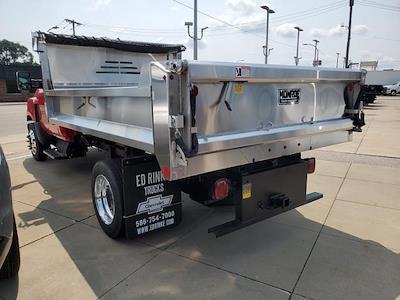 2020 Silverado Medium Duty Regular Cab DRW 4x2, 11' Monroe Stainless Steel Dump Body #505448 - photo 2