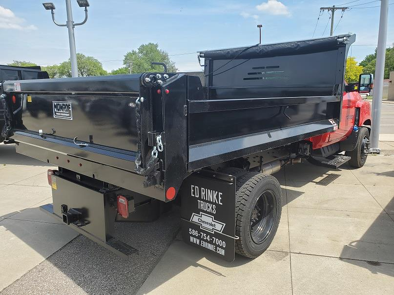 2020 Silverado Medium Duty Regular Cab DRW 4x2, 11 Foot Monroe Dump #505465 - photo 3