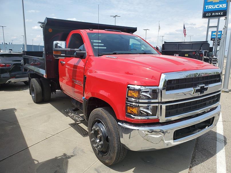 2020 Silverado Medium Duty Regular Cab DRW 4x2, 11 Foot Monroe Dump #505465 - photo 4