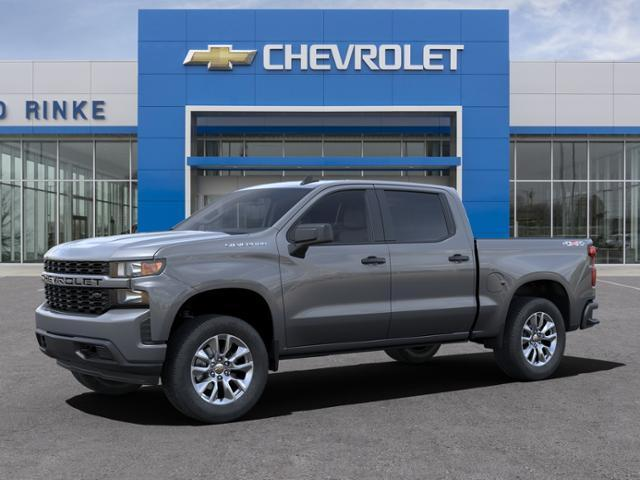 2021 Chevrolet Silverado 1500 Crew Cab 4x4, Pickup #511161 - photo 3