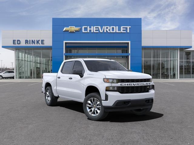 2021 Chevrolet Silverado 1500 Crew Cab 4x4, Pickup #511333 - photo 1