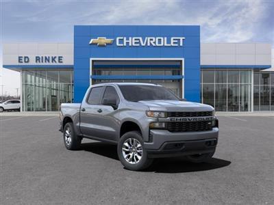2021 Chevrolet Silverado 1500 Crew Cab 4x4, Pickup #511349 - photo 1