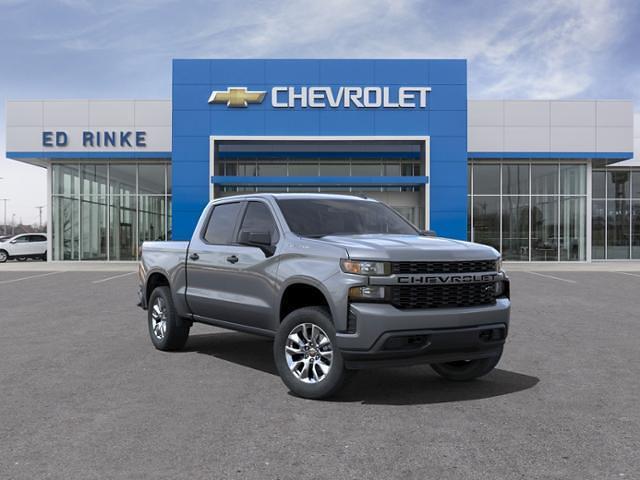 2021 Chevrolet Silverado 1500 Crew Cab 4x4, Pickup #511395 - photo 1