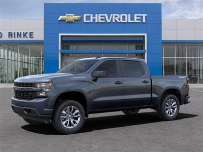 2021 Chevrolet Silverado 1500 Crew Cab 4x4, Pickup #511405 - photo 3