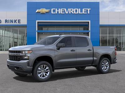 2021 Chevrolet Silverado 1500 Crew Cab 4x4, Pickup #511487 - photo 3