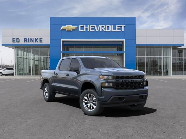 2021 Chevrolet Silverado 1500 Crew Cab 4x4, Pickup #511511 - photo 1