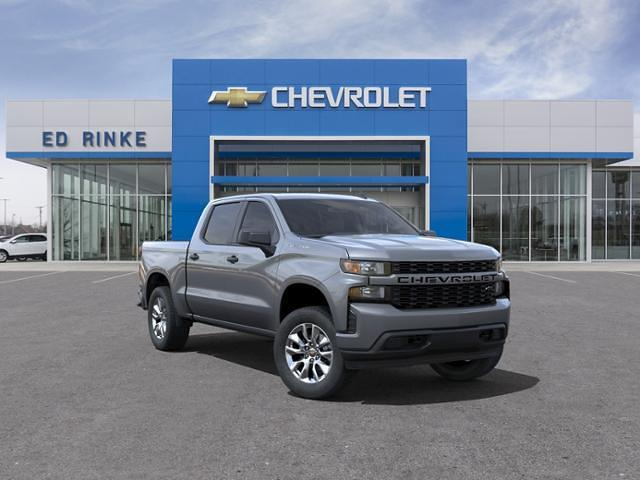 2021 Chevrolet Silverado 1500 Crew Cab 4x4, Pickup #511688 - photo 1