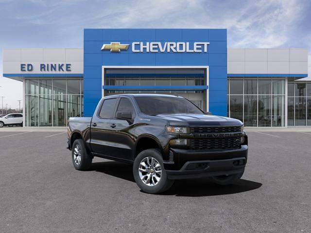 2021 Chevrolet Silverado 1500 Crew Cab 4x4, Pickup #511789 - photo 1