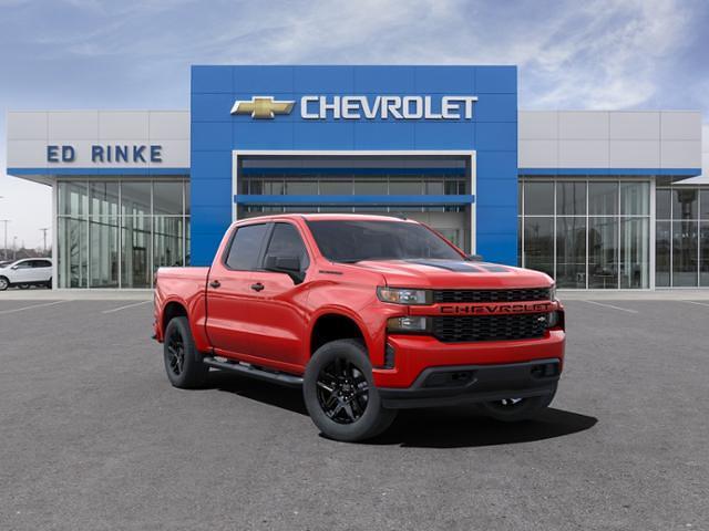 2021 Chevrolet Silverado 1500 Crew Cab 4x4, Pickup #511826 - photo 1