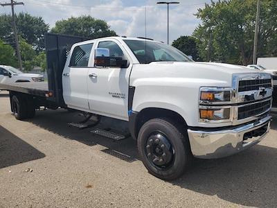 2021 Silverado Medium Duty Crew Cab DRW 4x2,  Monroe Truck Equipment Platform Body #513816 - photo 1