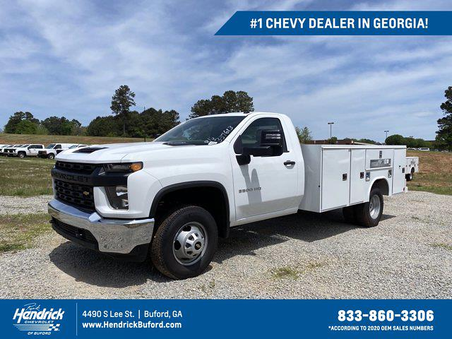 2020 Chevrolet Silverado 3500 Regular Cab DRW 4x4, Reading Service Body #CL37613 - photo 1