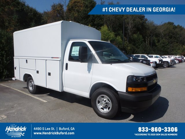 2020 Chevrolet Express 3500 4x2, Reading Service Utility Van #CL54645 - photo 1
