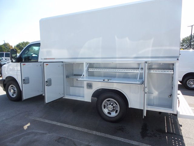 2020 Chevrolet Express 3500 RWD, Reading RVSL Service Utility Van #CL54645 - photo 12