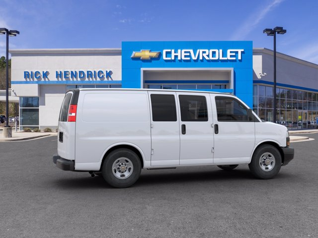2020 Chevrolet Express 2500 RWD, Adrian Steel Commercial Shelving Upfitted Cargo Van #CL59560 - photo 7