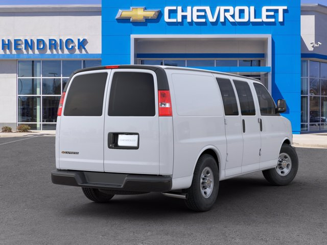 2020 Chevrolet Express 2500 4x2, Adrian Steel Commercial Shelving Upfitted Cargo Van #CL69184 - photo 4