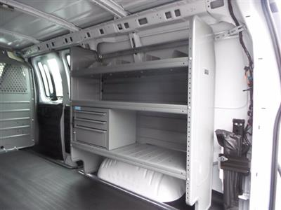 2020 Chevrolet Express 2500 4x2, Adrian Steel Commercial Shelving Upfitted Cargo Van #CL69202 - photo 16