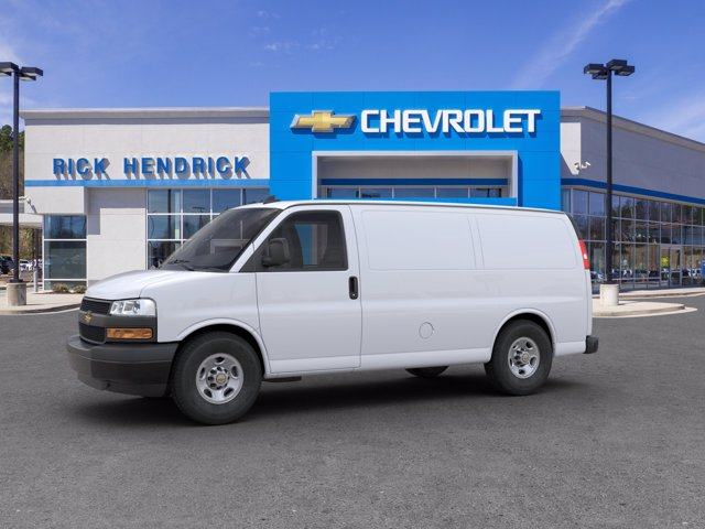 2020 Chevrolet Express 2500 4x2, Adrian Steel Commercial Shelving Upfitted Cargo Van #CL69210 - photo 4