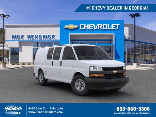 2020 Chevrolet Express 2500 4x2, Adrian Steel Commercial Shelving Upfitted Cargo Van #CL69210 - photo 1