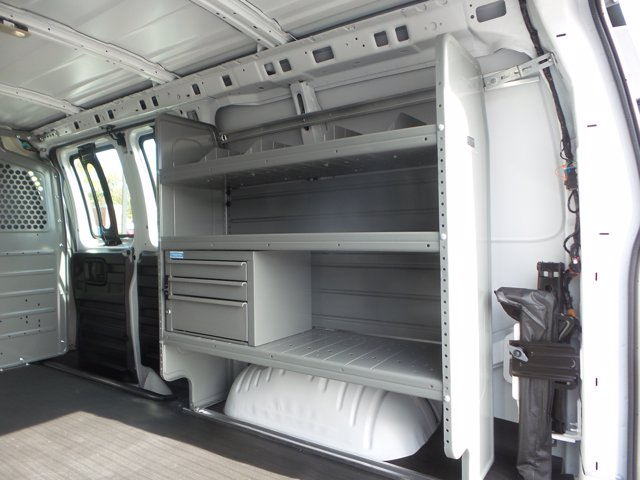 2020 Chevrolet Express 2500 4x2, Adrian Steel Commercial Shelving Upfitted Cargo Van #CL69246 - photo 20