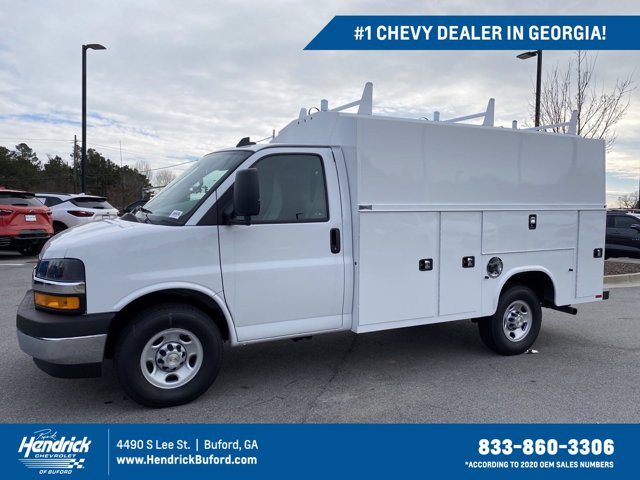 2020 Chevrolet Express 3500 4x2, Knapheide Service Utility Van #CL77192 - photo 1