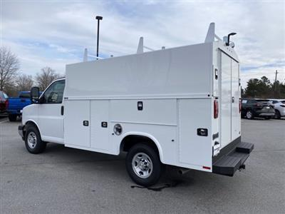 2020 Chevrolet Express 3500 4x2, Knapheide KUV Service Utility Van #CL77192 - photo 2