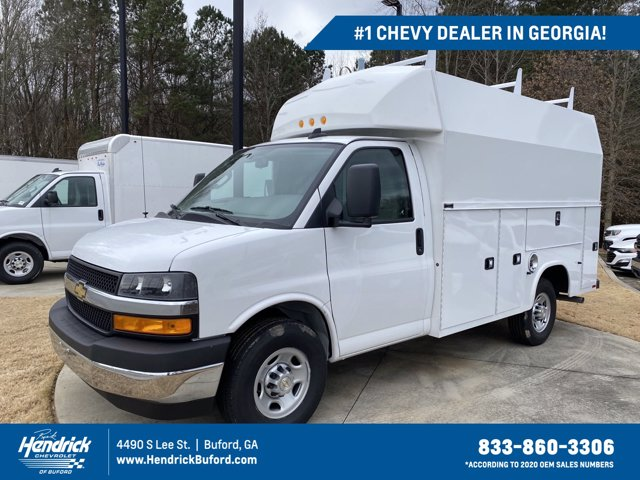 2020 Chevrolet Express 3500 4x2, Knapheide KUV Service Utility Van #CL77235 - photo 1