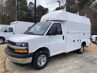 2020 Chevrolet Express 3500 4x2, Knapheide KUV Service Utility Van #CL77235 - photo 8